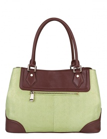 Сумка ELEGANZZA ZM - 35688 green/brown