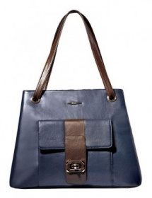 Сумка ELEGANZZA Z - 36071 navy/brown